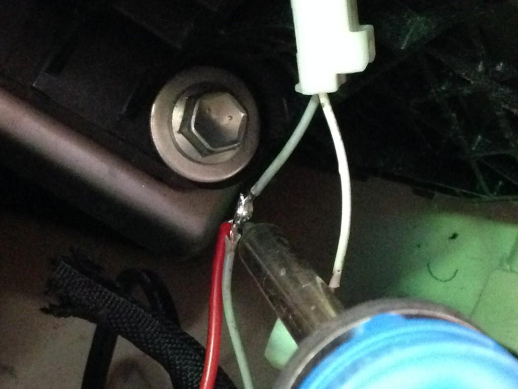 ベルファイア ドライブレコーダー取付