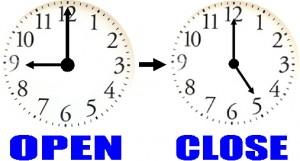 2月27日の営業時間について