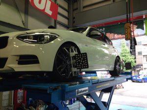 BMW アライメント調整