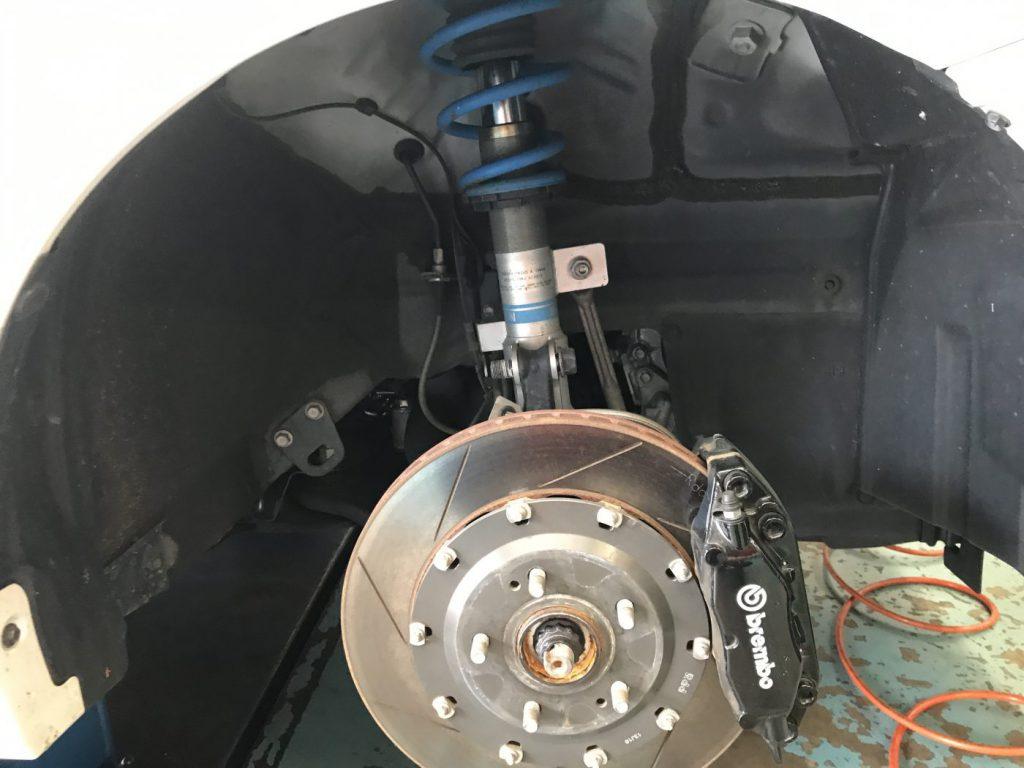 プリウスアルファ ZVW40W テインFLEX-A &タイヤ交換・・・他
