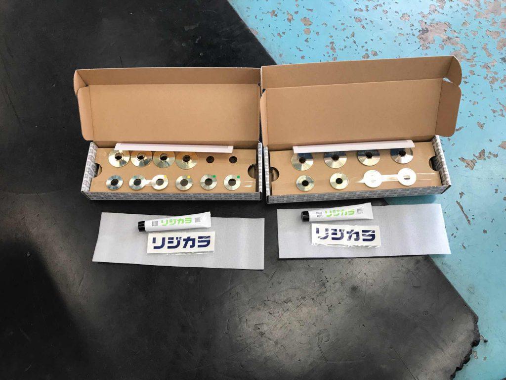 SJ5フォレスター リジカラ取付 アライメント調整