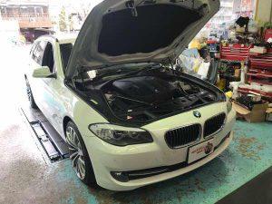 BMW523d (F11)H&Rスプリング(ダウンサス)交換