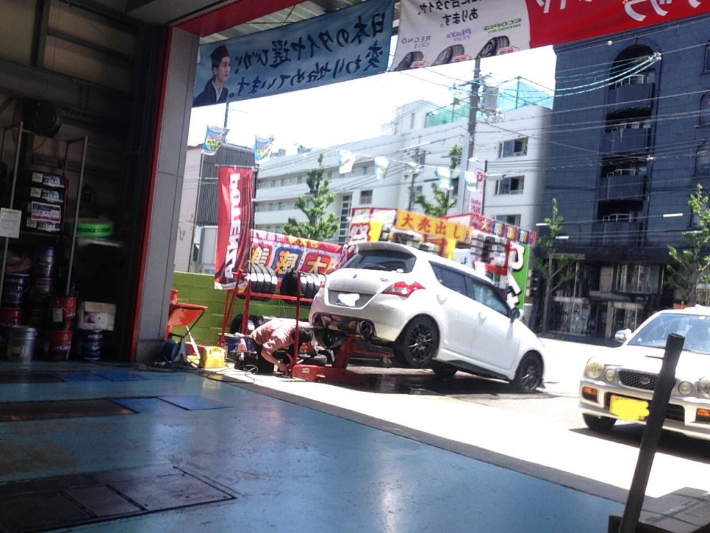 スイフトスポーツ ユーザー車検 代行