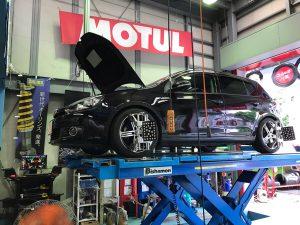 VW GOLF6 アライメント調整
