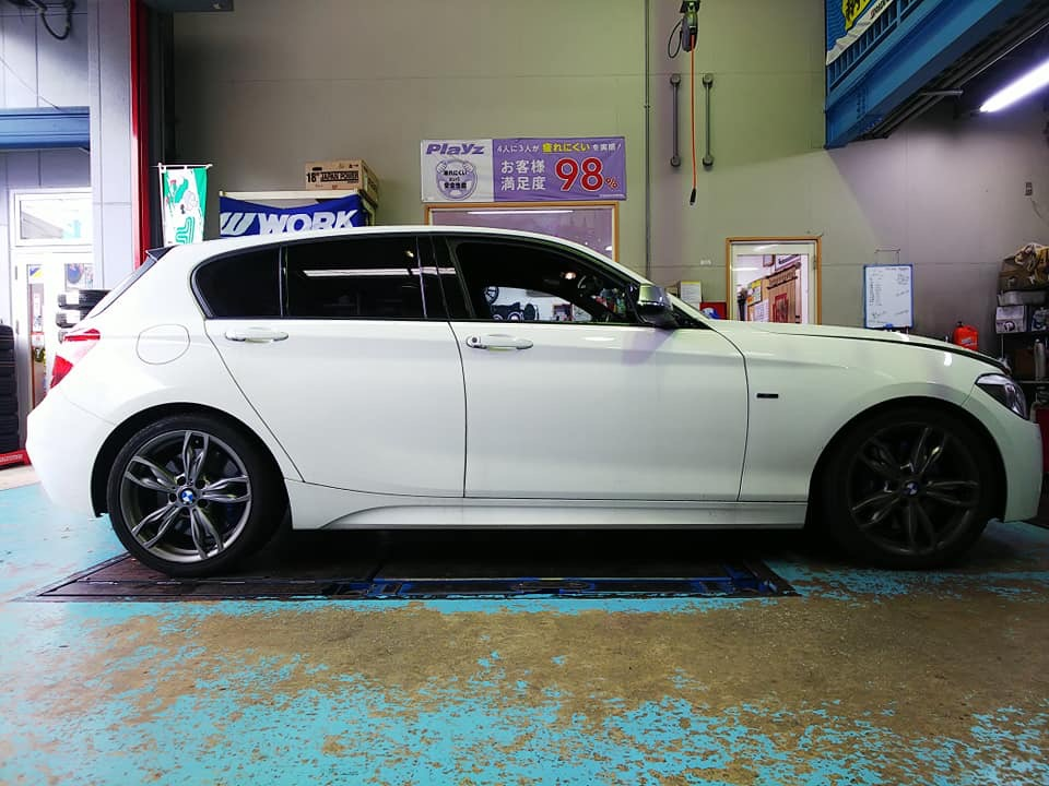 BMW M135i 車高調取付
