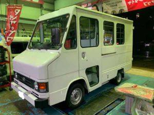 トヨタ デリボーイ デッキ・バックカメラ・モニター取付