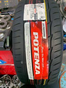 FD3S RX-7 タイヤ交換・アライメント調整