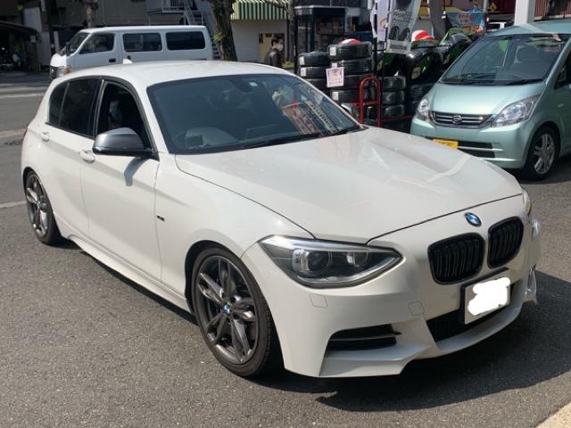 BMW 135 (F20系)ブレーキ交換
