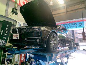 BMW(F 11)アライメント調整