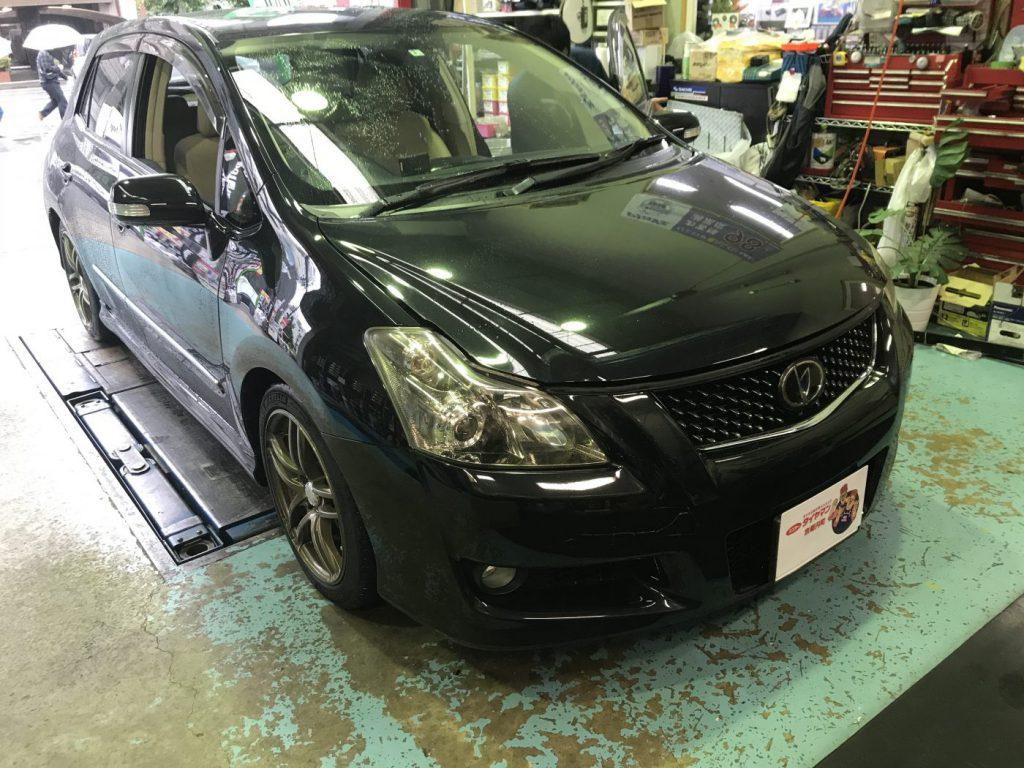 トヨタ ブレイド (GRE156) 車高調取付 アライメント調整