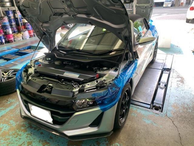 S660(JW5)車高調・リジカラ・ボディ補強パーツ!