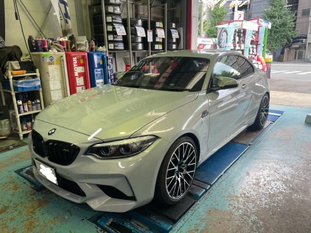 BMW M2(F87) KW(カーヴェー)バージョン3取付